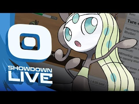 Meloetta Suspect Test Laddering #1 - Pokemon Sun and Moon! NU Showdown Live w/ PokeaimMD!