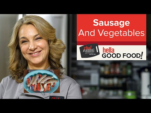 Sausage and Vegetable Sheet Pan Dinner