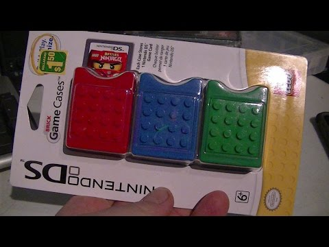 NINTENDO DS LEGO BRICK GAME CASES TRY OUT