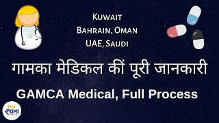 How to Book GAMCA /GCC Medical Test Online Appointment