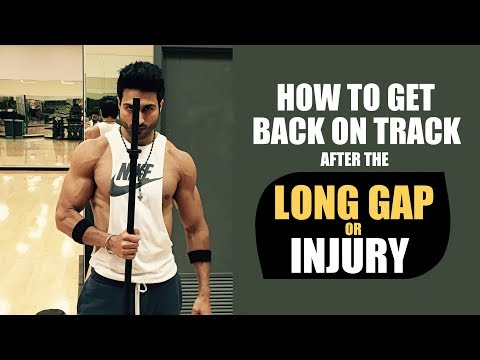 How to get back on Track after the LONG GAP or INJURY | Including Grocery Shopping PDF by Guru Mann