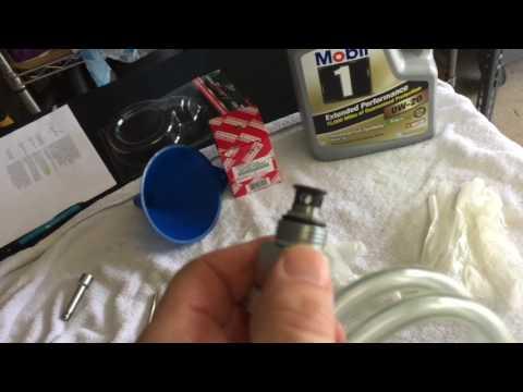 Oil Filter Change 2012 Sienna