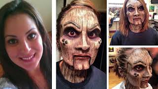 Top 10 Scary Makeup That Looks Too Real - Part 2