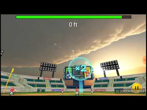 Playing and hiting homerun in baseball king in Hindi