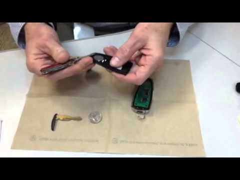 Ford  Key Fob - Intelligent Access key, Battery Replacement