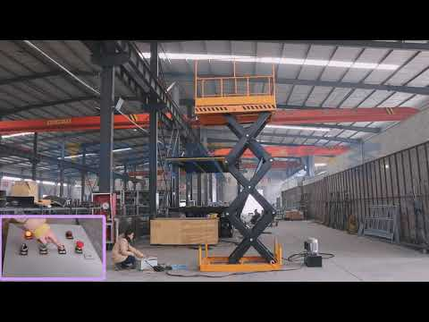 1.5ton 3m stationary scissor lift from MORN LIFT