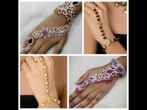 Slave Bracelet/ RIng and Bracelet combination Bridal Jewellery