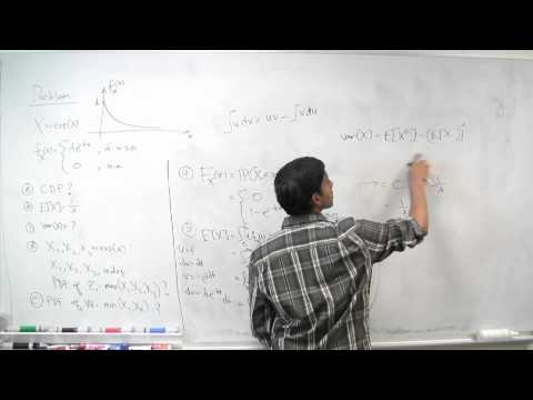 Mean & Variance of the Exponential