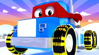 The Winch Truck Carl The Super Truck Car City Cars And