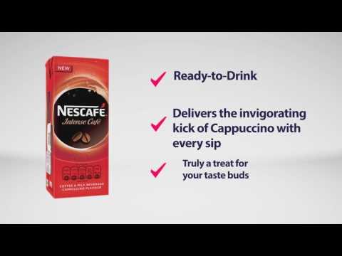 Nescafe intense cafe