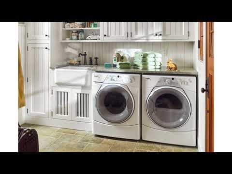 Garage laundry room ideas