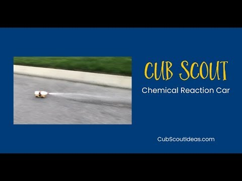 How to Make a Chemical Reaction Car for Cub Scouts