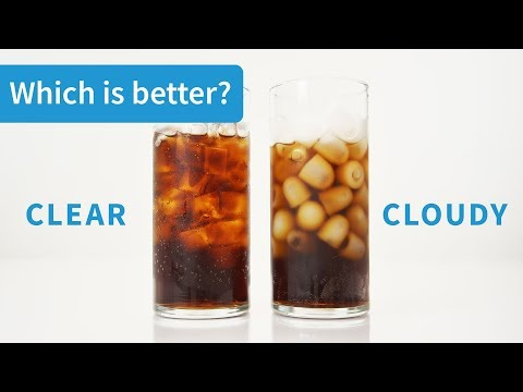 Clear Ice vs. Cloudy Ice