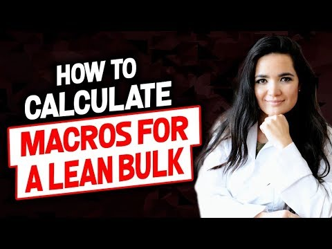 How to Calculate Macros for a Lean Bulk | Cómo calcular macros para una masa magra