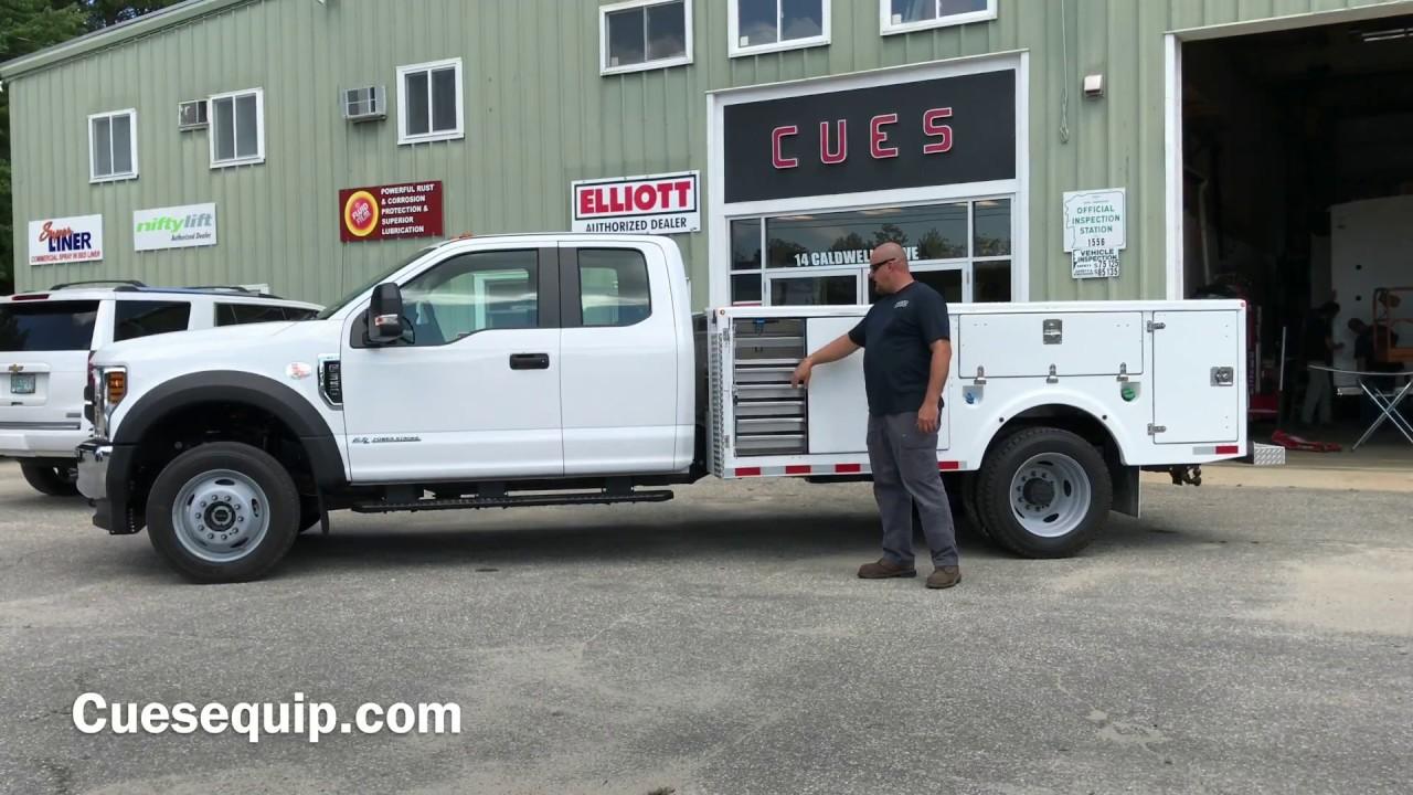 11' Fiberline Fiberglass Utility Truck Bed Available at CUESEQUIP.com