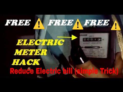 Electric meter hack  - (Meter Opening method)