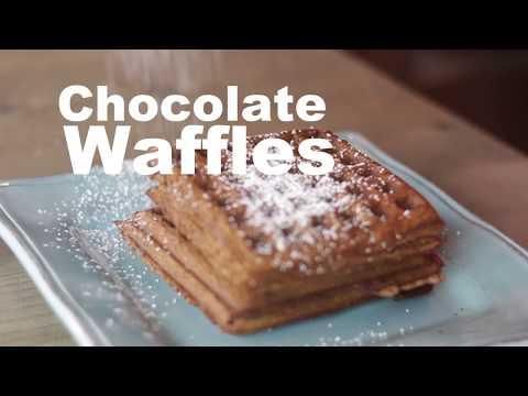 How To Make Chocolate Waffles