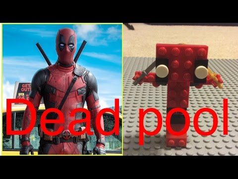 How to build lego dead pool