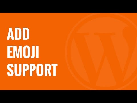How to Add Emoji Support to Your WordPress Blog