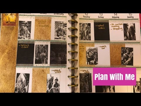 Plan With Me Treasure Of Sierra Madre Happy Planner