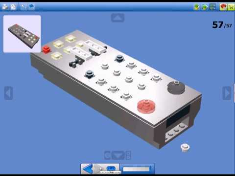 How To Build Lego TV Remote