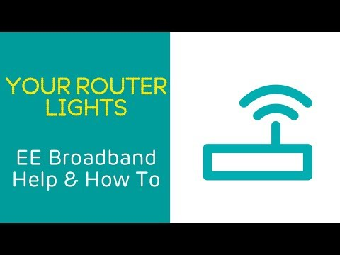 EE Home Broadband Help & How To: Your Router Lights