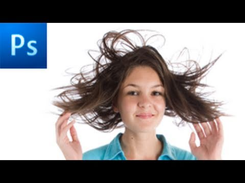 Photoshop Tutorial: Make Advanced Hair Selections with Masks -HD-