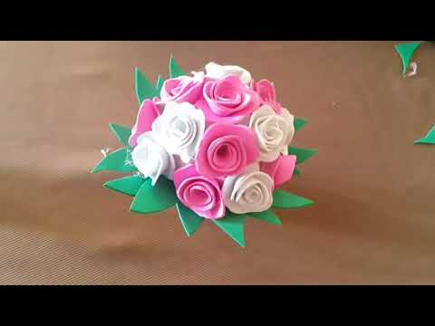 How To Make Diy Flowers For Vase - Home Decoration