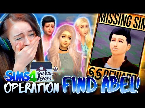 CAN WE GET ABEL BACK HOME!?💔(The Sims 4 - BROKEN DREAM #11! 🏚)