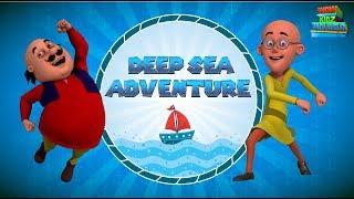 Motu Patlu | Deep Sea Adventure | Most Popular 3D Movies For Kids | WowKidz Movies