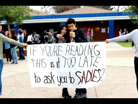 San Dimas High School- Sadies Proposal 2015