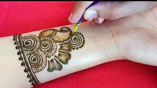 Easy Mehndi Design For Front Hand Videos 9tubetv