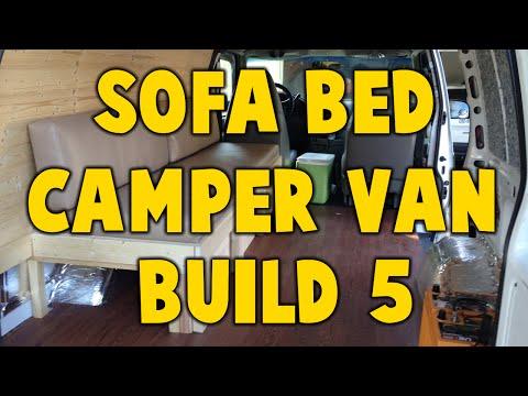 Astro Camper Van Build 5 - Sofa Bed Build
