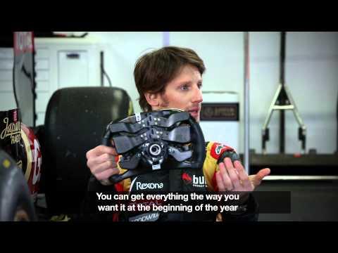 La position de conduite d'un pilote de Formule 1