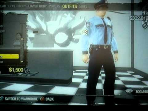 Saints Row 2 - Beat Cop and SWAT Outfit