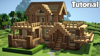 Download Minecraft: Starter House Tutorial - How to Build a House in Minecraft (Easy!) Video