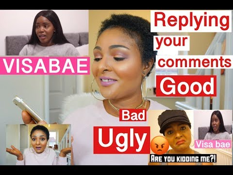 😱Shooketh!: VISABAE- REPLYING YOUR COMMENTS ON MY Rlt GOFUNDME VIDEO