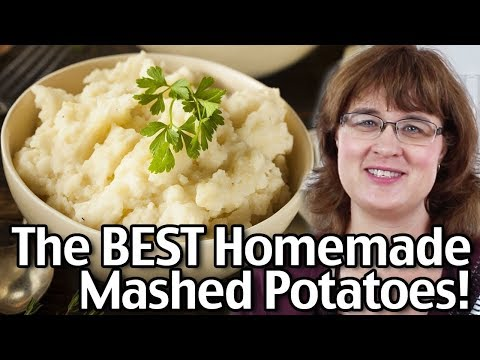 Short Version- How To Make The BEST Creamy Homemade Mashed Potatoes! Easy Mashed Potatoes Recipe!