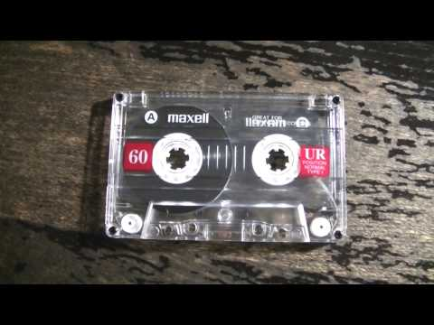 How To: Record music or anything onto a Cassette Tape