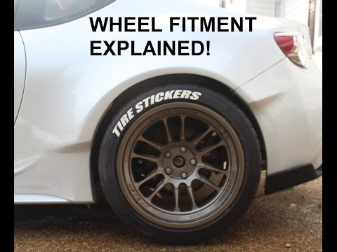 Rocket Bunny Wheel Fitment Explained In Detail BRZ FRS GT86