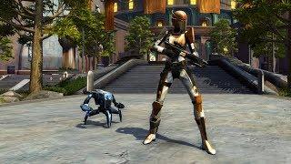 Swtor Play 2 Give 2018 Reward ► Mb-6 Micro Defender Mini-pet Droid