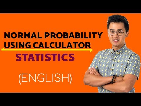 Statistics - Computing the Area Under the Normal Curve Using Ti84