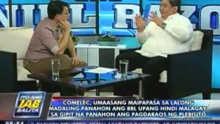 COMELEC, umaasang maipapasa sa lalong madaling panahon ang BBL