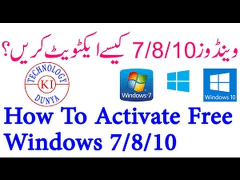 How To Activate Windows 10 Without Any Software For FREE (EASY WAY) II 2017 II