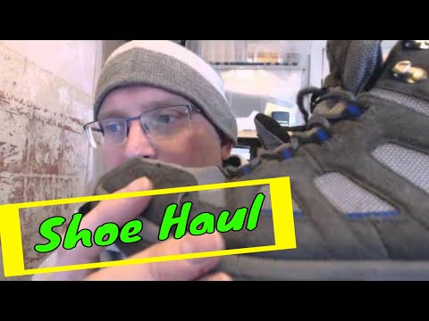 Walking boots haul - buying shoes for resale for £1 each
