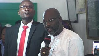 Liberia : le nouveau président, George Weah, prêt à relever les défis