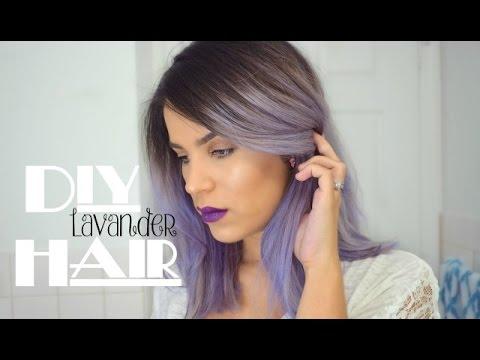 DIY Lavender Hair