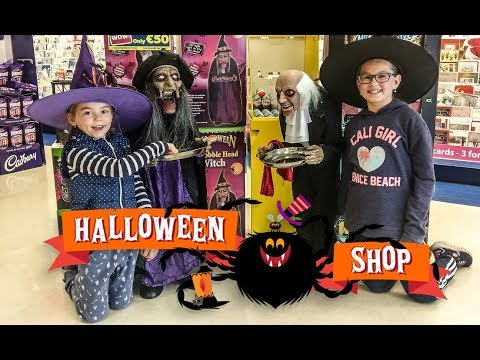 NEW Scary Halloween Shopping HALLOWEEN COSTUME SHOPPiNG 2017