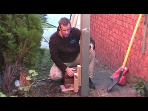 How to Remove a Fence Post. How to Pull Out a Fence Post in CONCRETE !