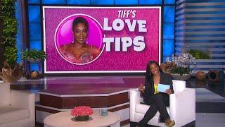 Tiffany Haddish Gives Love Advice to Audience